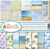 Watercolor Beach Collection Kit - Ella & Viv
