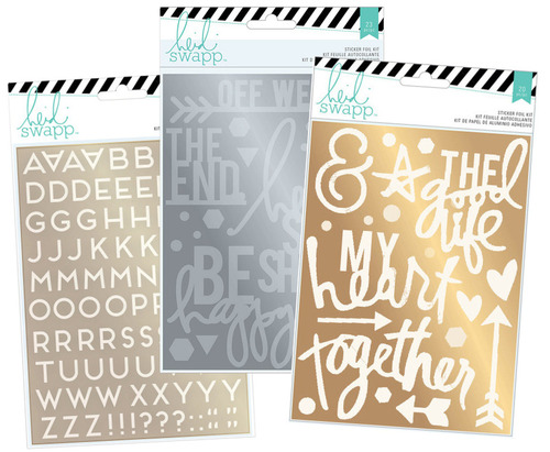 Heidi Swapp Foil Sticker Bundle