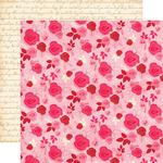 Multi Floral Paper - Blowing Kisses - Echo Park