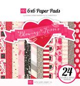 Blowing Kisses 6 x 6 Paper Pad - Echo Park