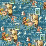 January Montage Paper - Children's Hour - Graphic 45