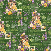 March Montage Paper - Children's Hour - Graphic 45