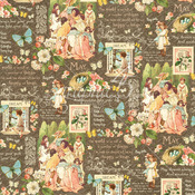 May Montage Paper - Children's Hour - Graphic 45