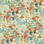 July Montage Paper - Children's Hour - Graphic 45