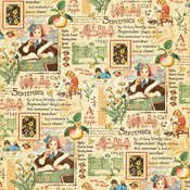 September Montage Paper - Children's Hour - Graphic 45