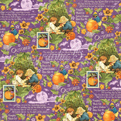 October Montage Paper - Children's Hour - Graphic 45