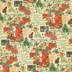 December Montage Paper - Children's Hour - Graphic 45