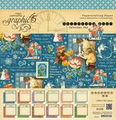 Children's Hour 12 x 12 Calendar Pad - Graphic 45