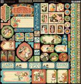 Children's Hour Decorative Stickers - Graphic 45