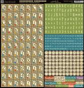 Children's Hour Alpha Stickers - Graphic 45