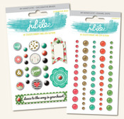 Mint Julip Decorative Brads & Dots Bundle - Jubilee - My Minds Eye