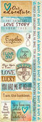 Vintage Backgrounds Combo Sticker Sheet - Ella & Viv