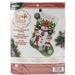 """18"""" Long - Elf On The Shelf Stocking Felt Applique Kit"""