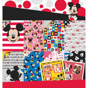 "Mickey & Friends - Disney Paper Pad 12""X12"""