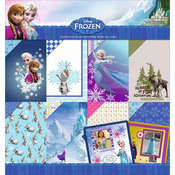"""Frozen - Disney Paper Pad 12""""X12"""""""