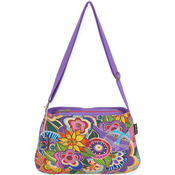 "Carlotta's Garden - Medium Crossbody 10""X14.5"""