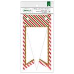 Stripes W/Glitter - Holiday Details Banner
