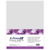 "X-Press It Stencil Sheets 8.5""X11"" 4/Pkg"