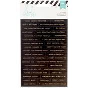 Heidi Swapp Memory Planner Word Stickers