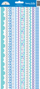 Polar Pals Fancy Frills Stickers - Doodlebug