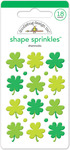 Shamrocks Shape Sprinkles - Doodlebug