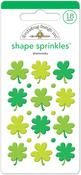 Shamrocks Shape Sprinkles - Doodlebug