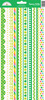 Pot O' Gold Fancy Frills Stickers - Doodlebug