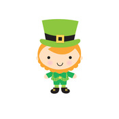 Leprechaun Sweet Roll Mini Stickers - Doodlebug