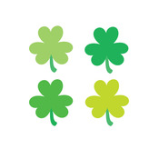 Clovers Sweet Roll Mini Stickers - Doodlebug
