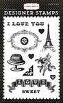 Amour Clear Stamps - Carta Bella
