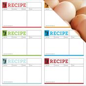 Recipe Cards Paper - In the KItchen - Reminisce