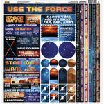 Space Wars Cardstock Sticker Sheet - Reminisce
