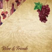 Wine & Friends Paper - The Winery - Reminisce