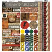 Wizard 101 Cardstock Sticker Sheet - Reminisce