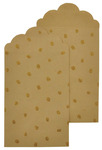 Kraft & Glitter Spot Gift Envelopes - Lucky Dip - KaiserCraft