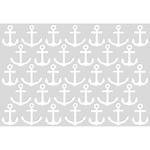 "Anchors - Kaisercraft Card Creations C6 Card Front Die 4""X6"""