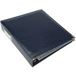 "Navy - We R Classic Leather 3-Ring Album 8.5""X11"""