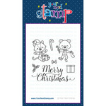 """Christmas Morning - Your Next Stamp Clear Stamps 4""""X4"""""""