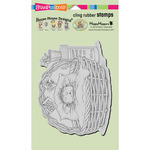 "Quick Recovery - Stampendous House Mouse Cling Stamp 7.75""X4.5"""