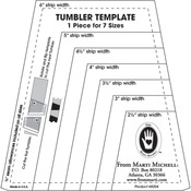 "8 Sizes - 2"" Through 5.5"" - One-Derful Tumbler Template"