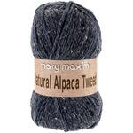 Blue Stone - Natural Alpaca Tweed Yarn