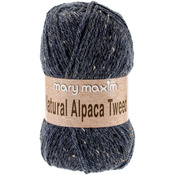 Blue Stone - Natural Alpaca Tweed Yarn