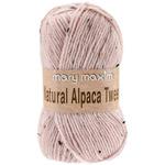 Rose Quartz - Natural Alpaca Tweed Yarn