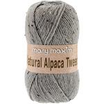 Grey - Natural Alpaca Tweed Yarn