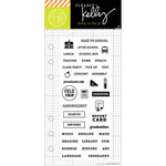 School Planner Clear Stamps - Kelly Purkey