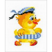 """5""""X6.25"""" 10 Count - Sailor Counted Cross Stitch Kit"""