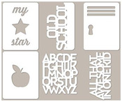 Alphabet Soup 2 Mini Placemats - Jillibean Soup