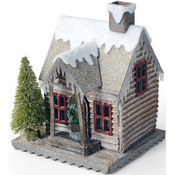 "Village Winter - Sizzix Bigz Die By Tim Holtz 5.5""X6"""