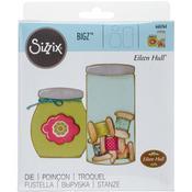 "Button Jars & Labels - Sizzix Bigz Die 5.5""X6"""
