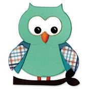 """Owl #5 - Sizzix Bigz Die 5.5""""X6"""""""